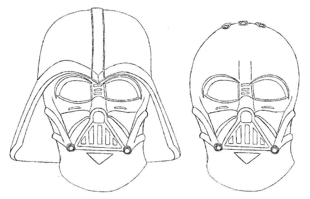 Darth Vader Coloring Pages to Print for Star Wars Lovers ...
