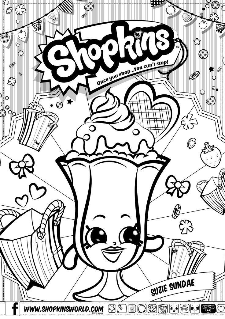Cute Ketchup Coloring Page - Cute Shopkins Coloring Page