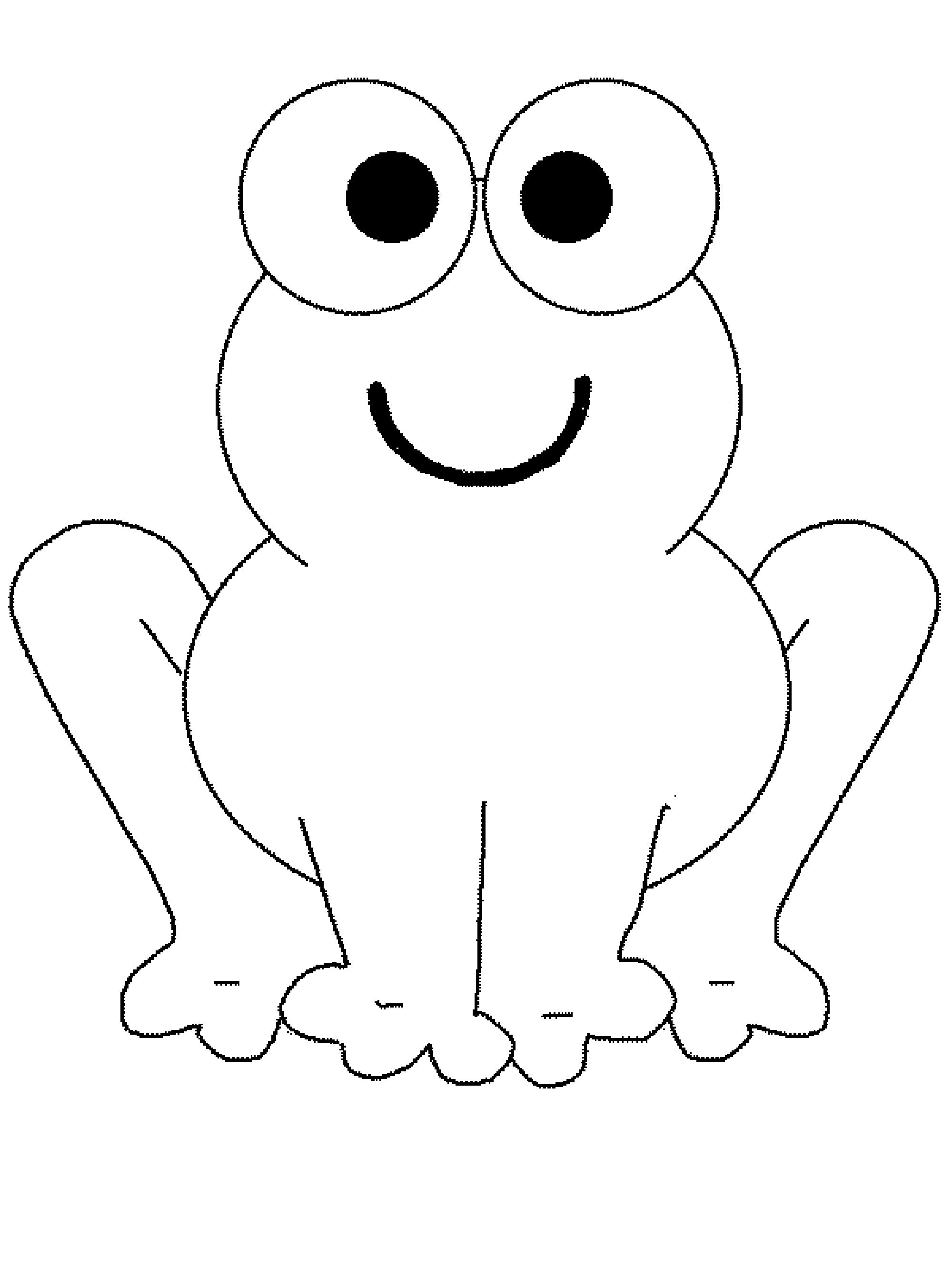 Cute Frog Coloring Pages Printable Kids Colouring Pages