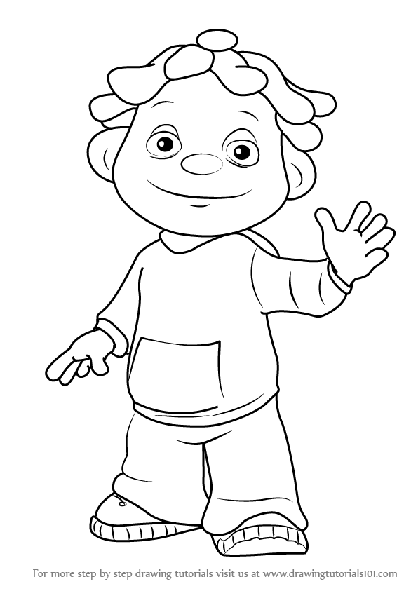 Sid The Science Kid Coloring Page Coloring Home