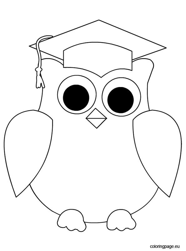 It is a graphic of Persnickety Preschool Graduation Coloring Pages