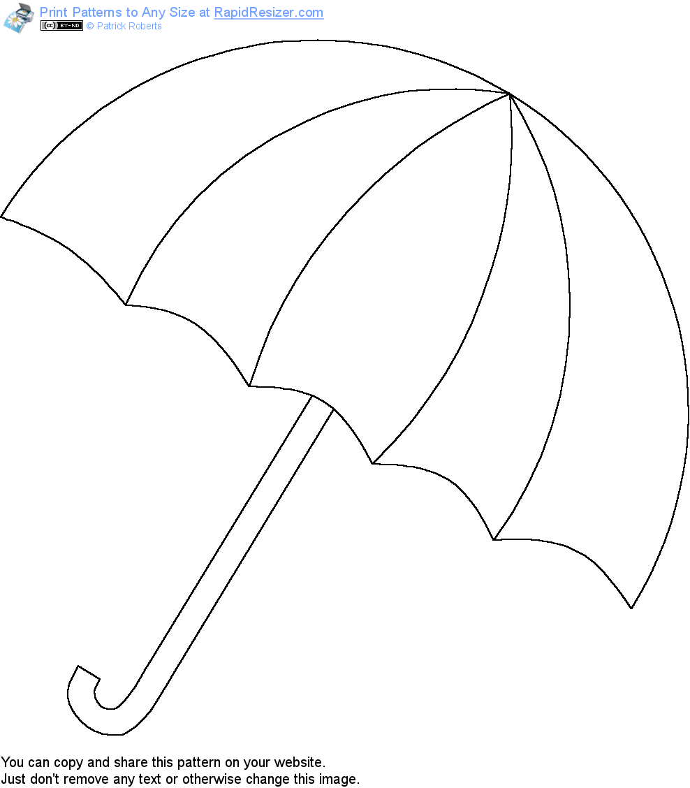 Coloring Pages Of A Beach Umbrella Coloring Home
