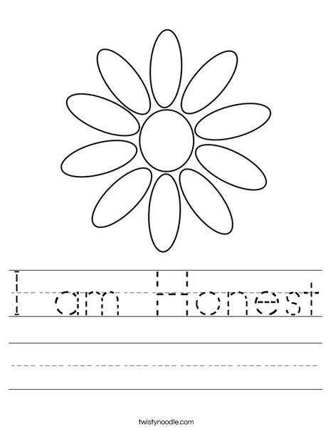 honesty coloring pages | Honesty Coloring Page - Coloring Home