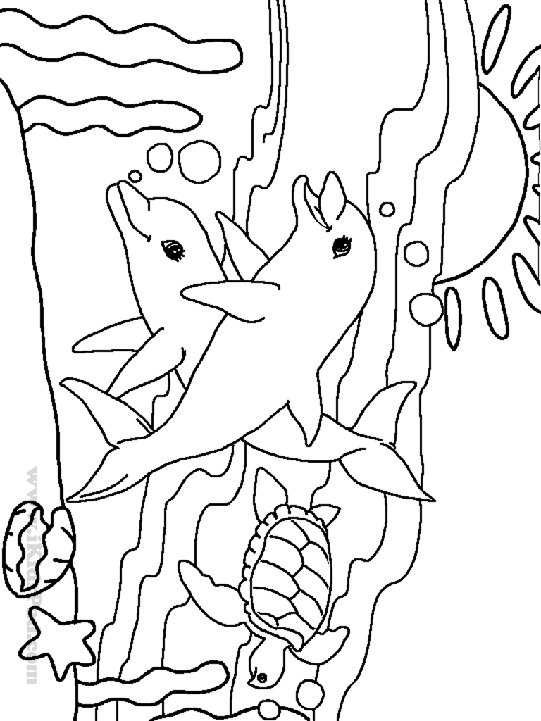 Ocean Coloring Pages For Preschool - Coloring Home