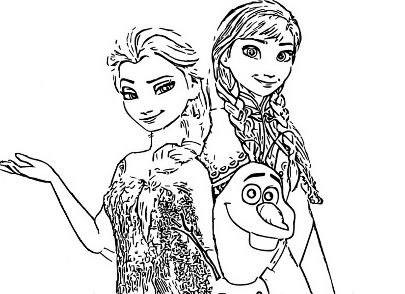 Frozen 2 Coloring Pages Coloring Home