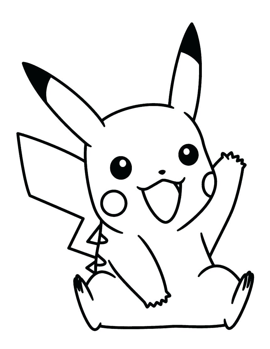 Coloring Pages : Pikachu Coloring Pages Pokemon Page ...