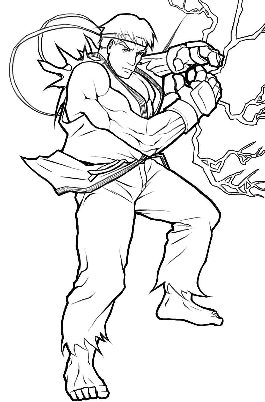 Street Fighter Coloring Pages - Coloring Home
