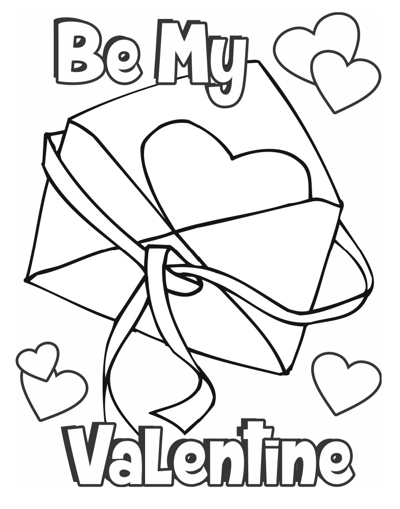 coloring pages : Coloring Pages For Kids Printables Valentines ...   997x783