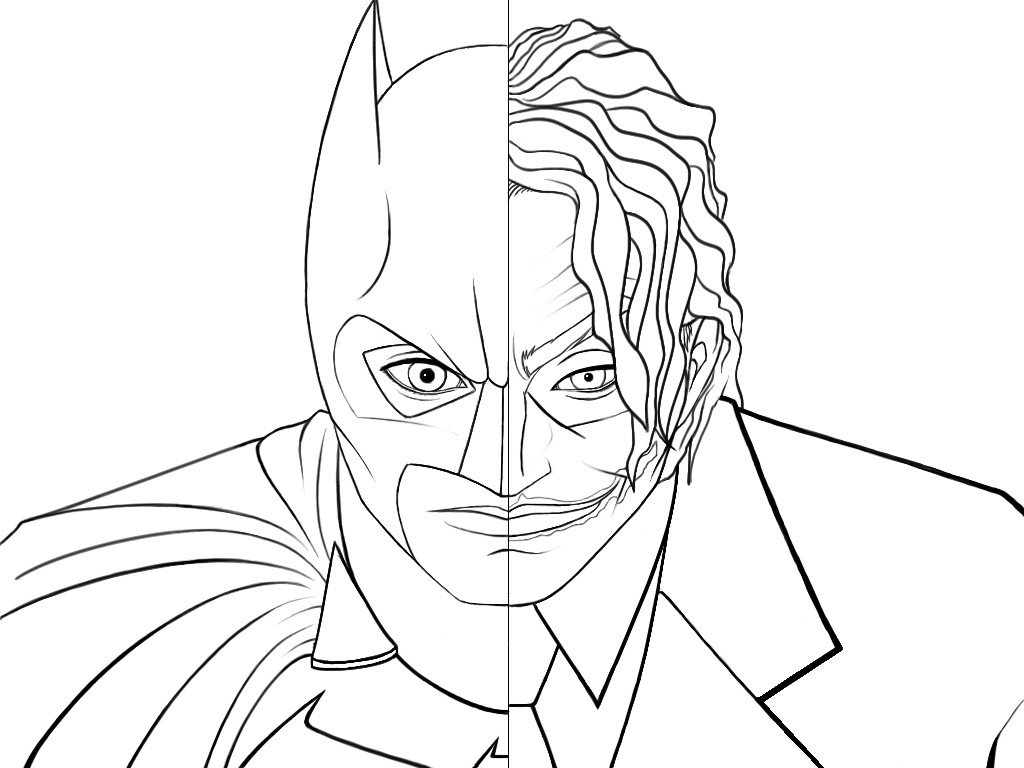 Batman And Joker Coloring Pages - GetColoringPages.com