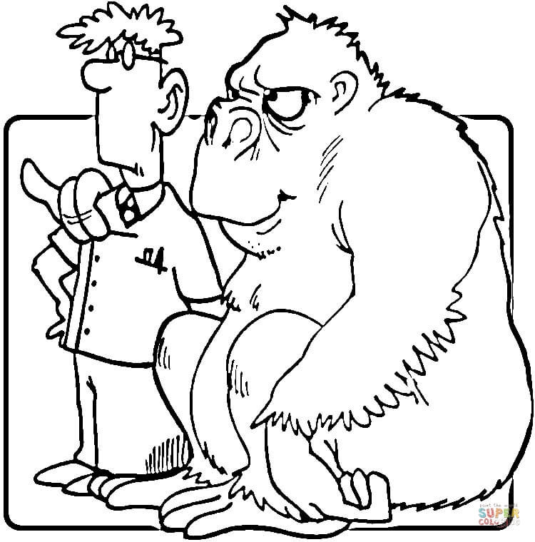 Veterinarian Coloring Page  Coloring Home
