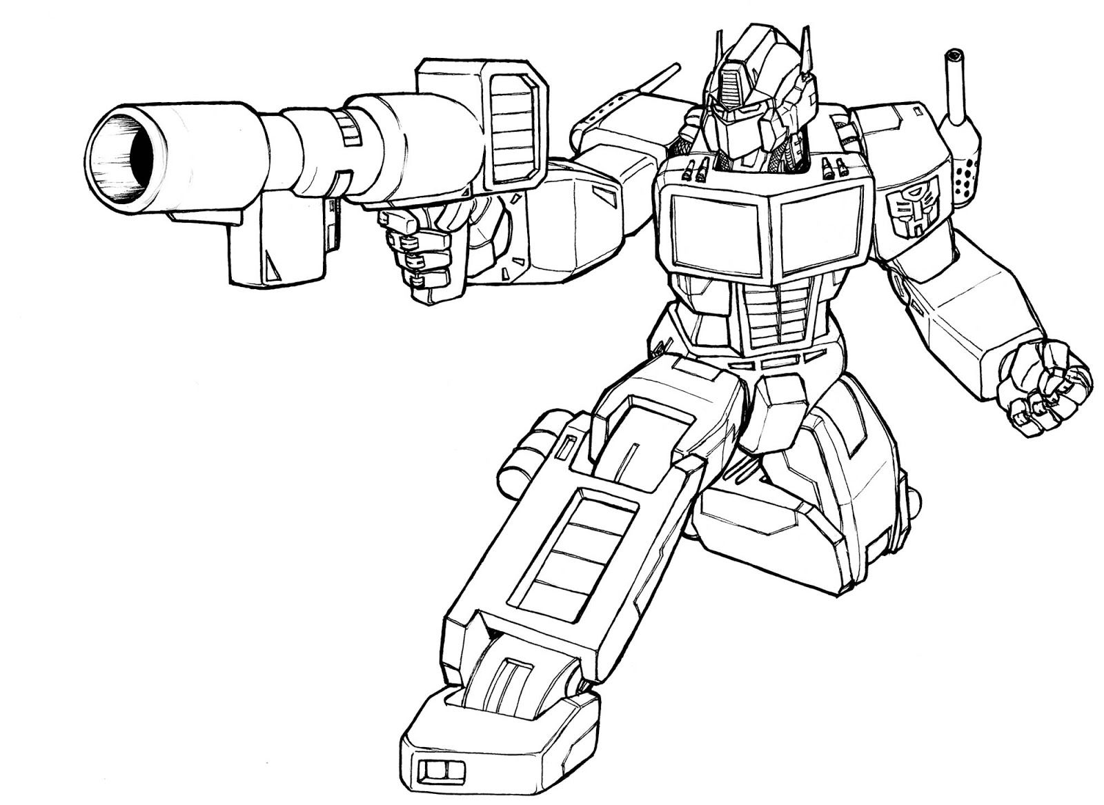 new transformers coloring pages - photo #19
