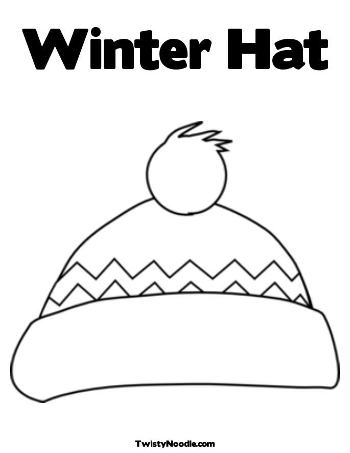 6 Pics Of Winter Scarf Coloring Page