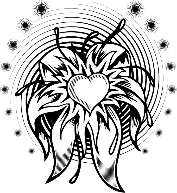 complex design free coloring pages | Complex Flower Coloring Pages - Coloring Home