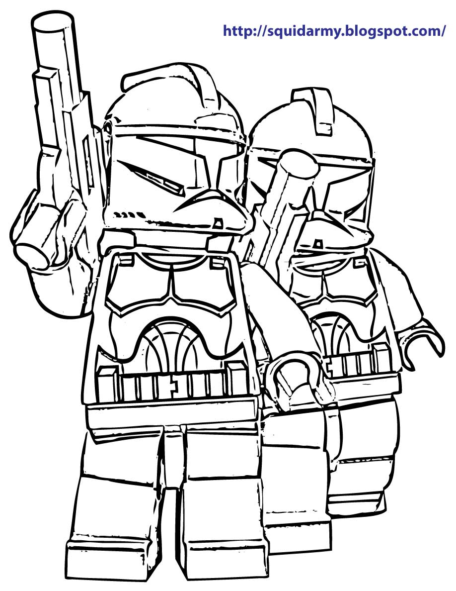 Lego Marvel Coloring Pages To Download And Print For Free: Star Wars Lego Free Coloring Pages