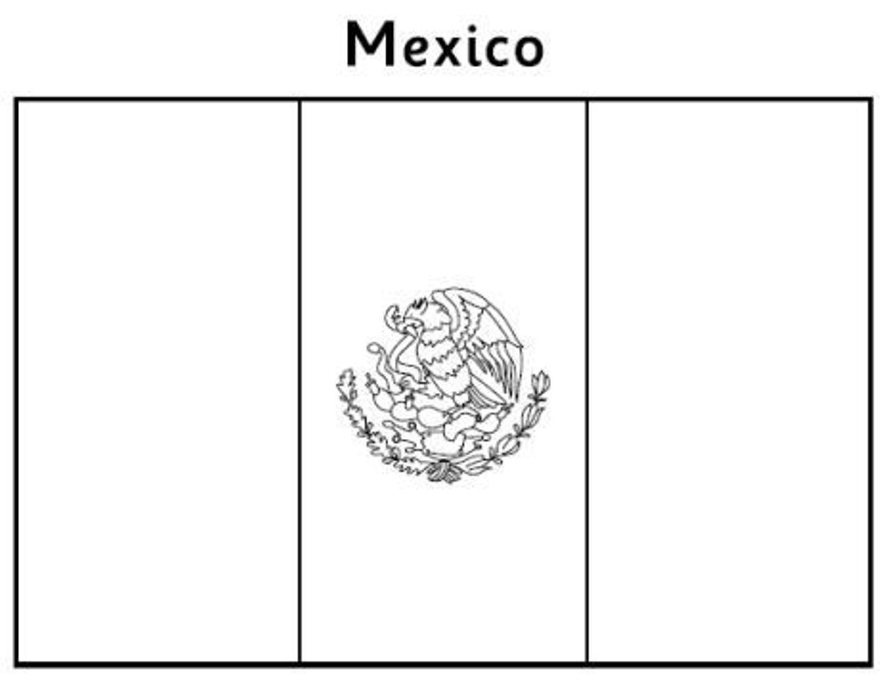 mexican crafts and coloring pages - photo#25