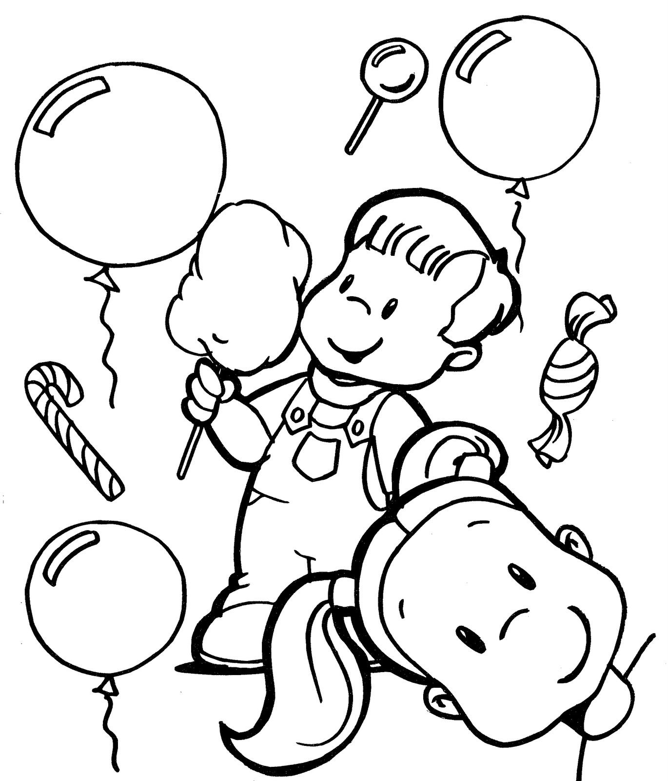Coloring pages children s day printable coloring pages for kids