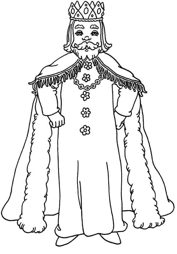 King Coloring Pages For Kids King Coloring Pages For Kids