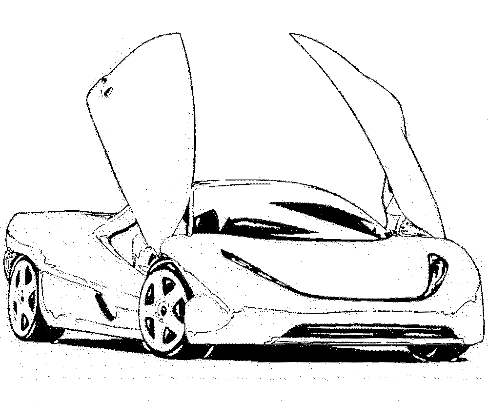 sports car coloring pages printable kids colouring pages - Lamborghini Coloring Pages