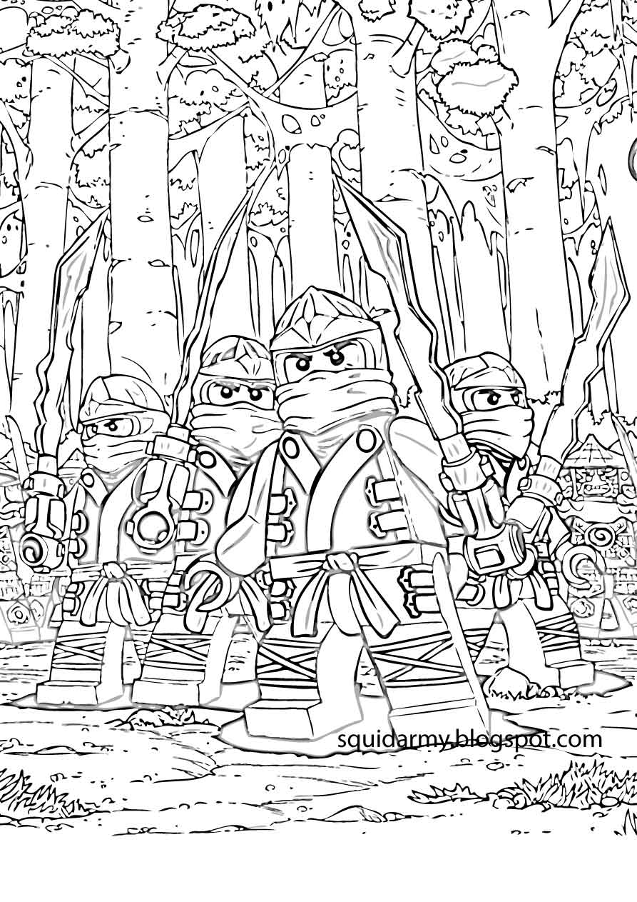 Lego Army Coloring Pages Coloring