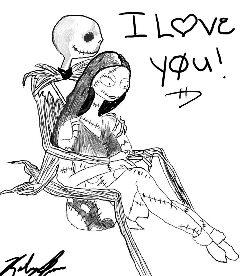 Free Comic Book Day Nightmare Before Christmas: Jack Skellington Coloring Page