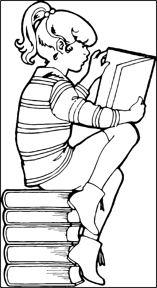 Free Reading Book Clipart - Public Domain Reading Book clip art ...