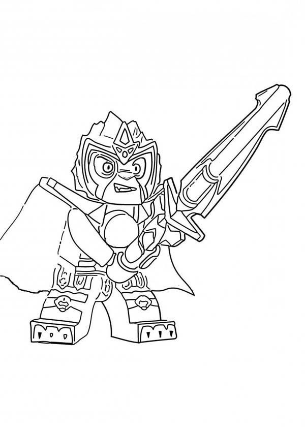 Lego Chima Coloring Pages - Coloring Home