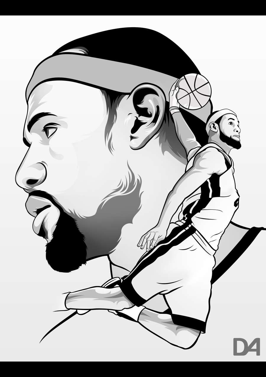 lebron james coloring page - photo #16
