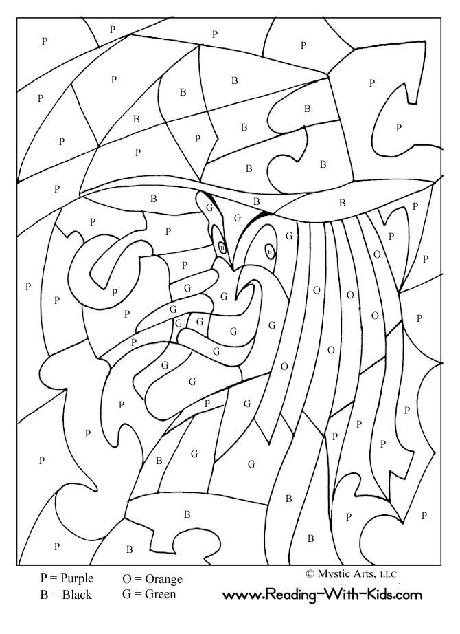 Coloriages numeros | Color By Numbers, Free Coloring ...