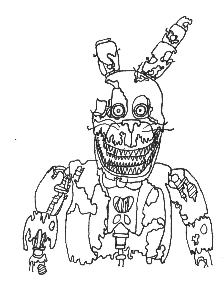 Top Coloring Pages: Coloring Pages Fashionable Idea Fnaf ...