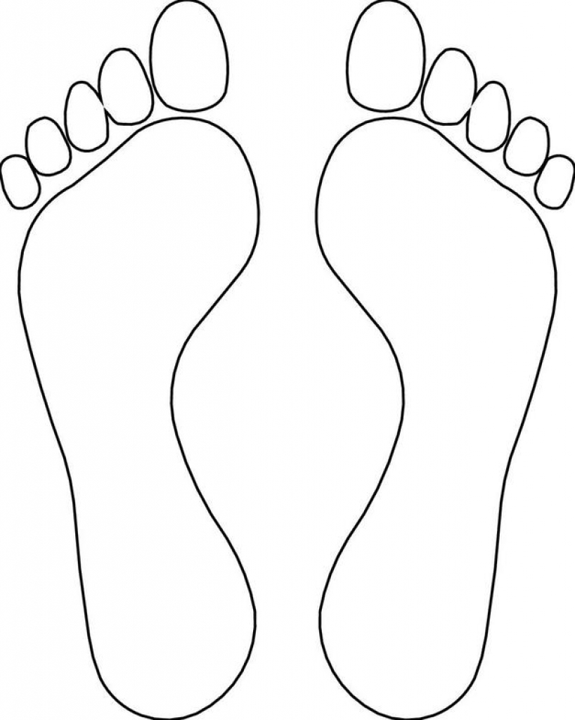 Footprint Coloring Pages Coloring Pages Ideas Coloring Home