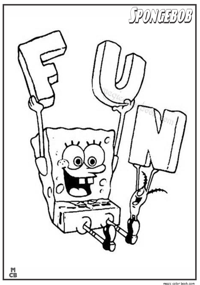 spongebob coloring pages 11
