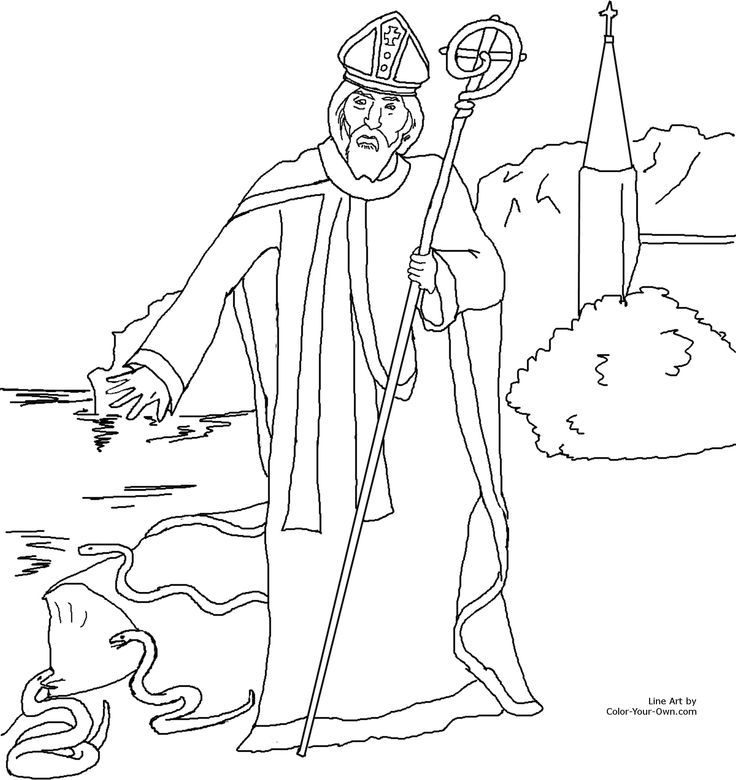 St Patricks Coloring Pages For Adults To Color - Coloring Home