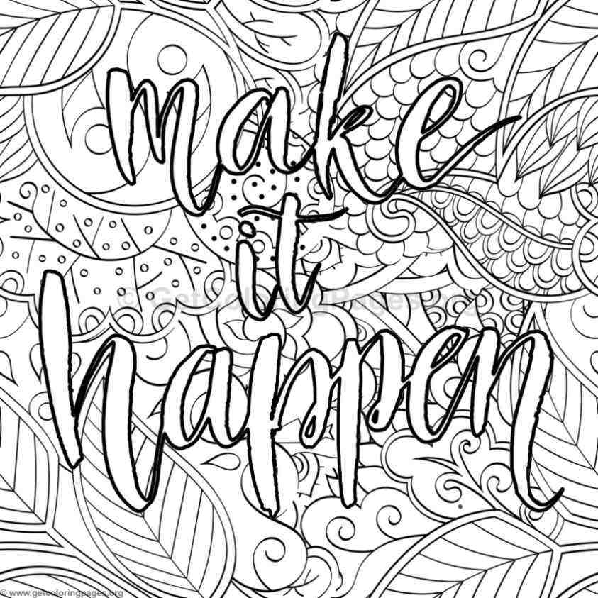 Positive Quotes Coloring Pages Forrobertdee.org - Coloring Home
