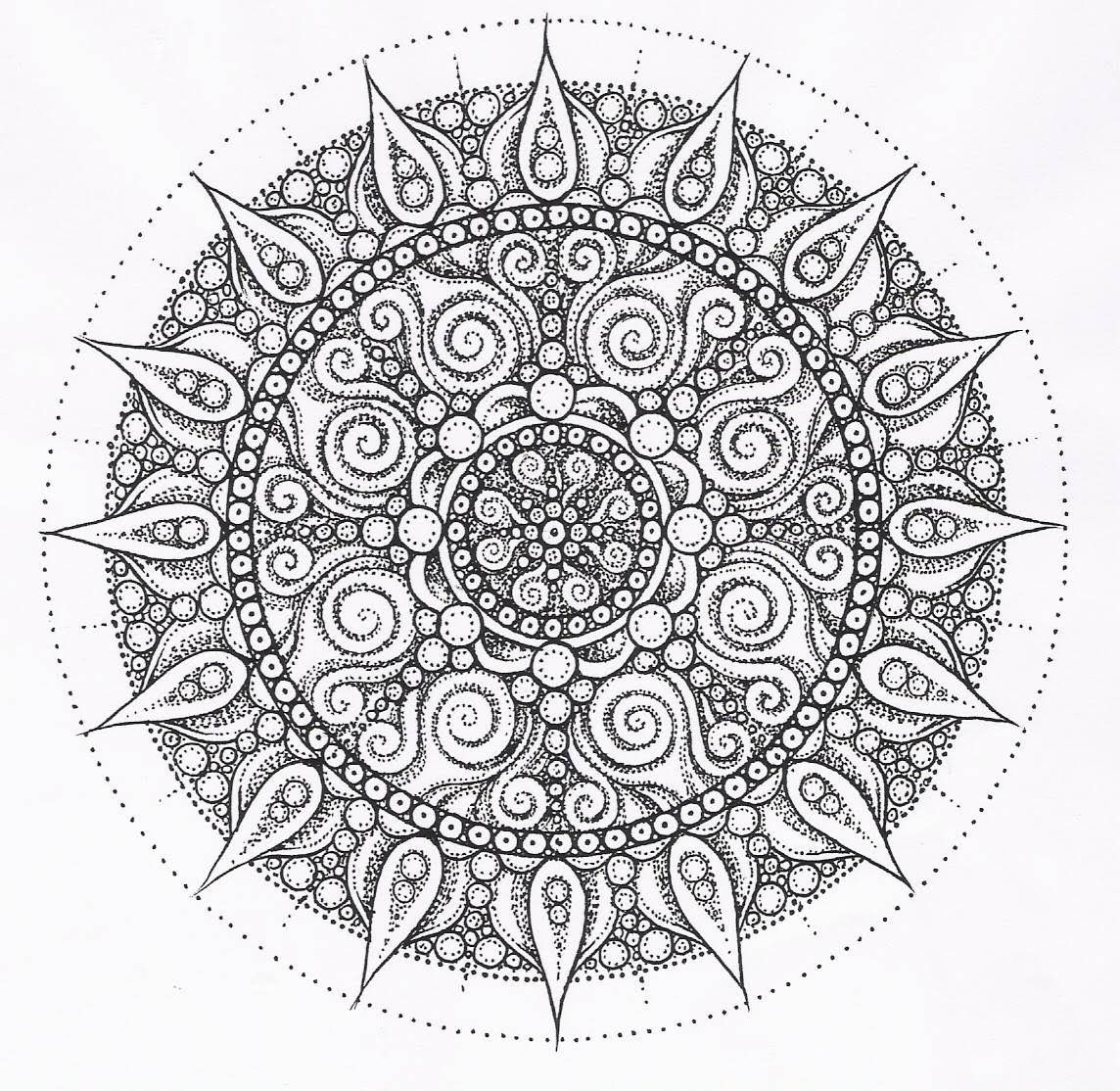 - Buddhist Mandala Coloring Pages - Coloring Home