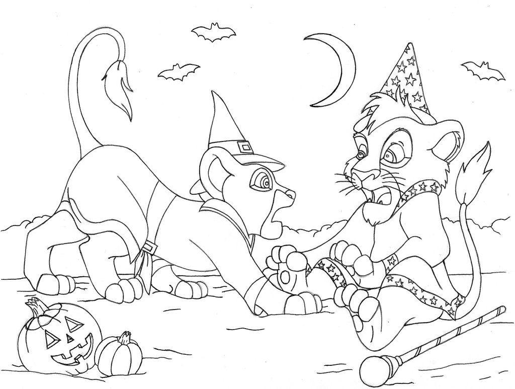 Kovu coloring pages online - Lion King 2 Coloring Pages 17 Pictures Colorine Net 11059