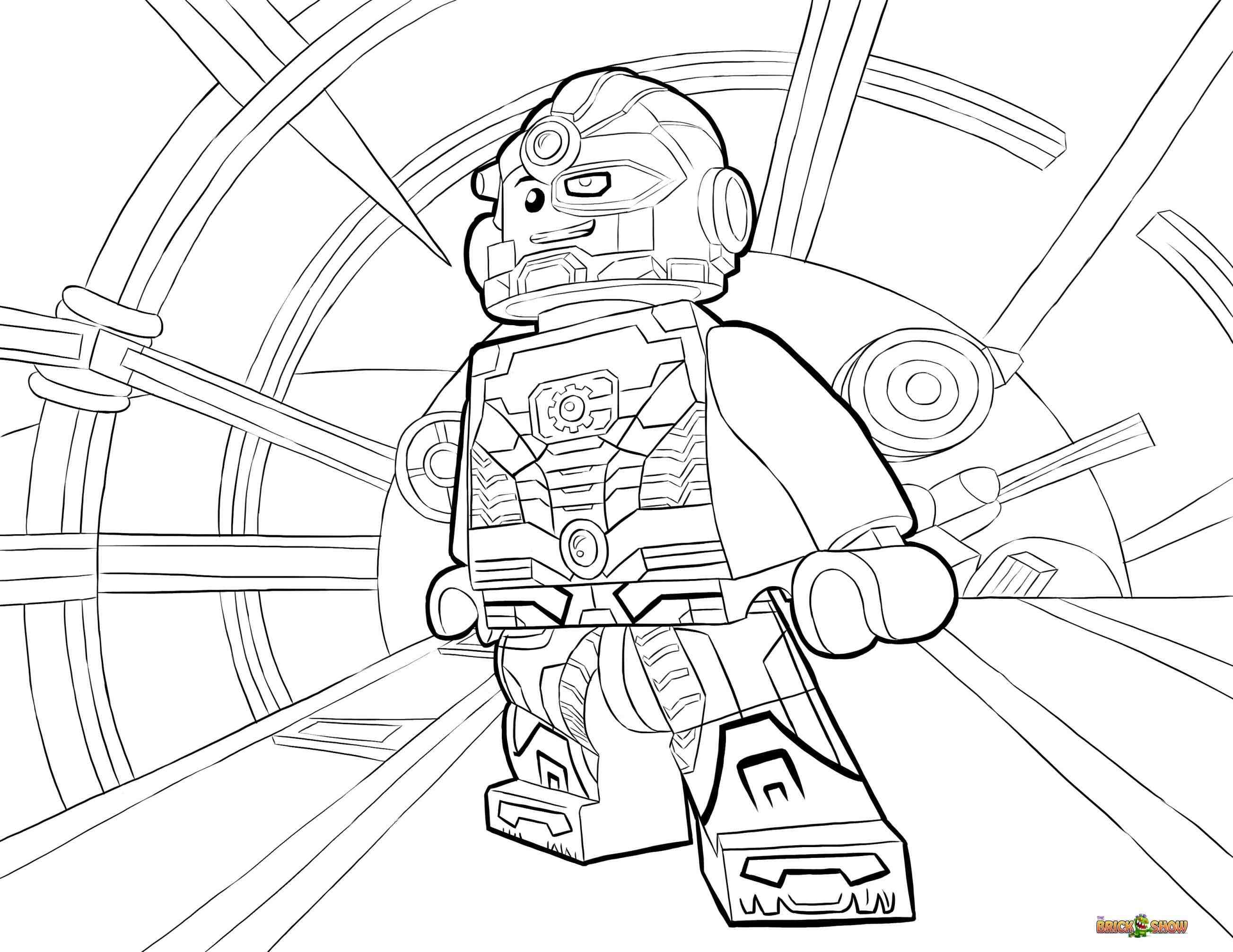 The Flash Coloring Page Coloring