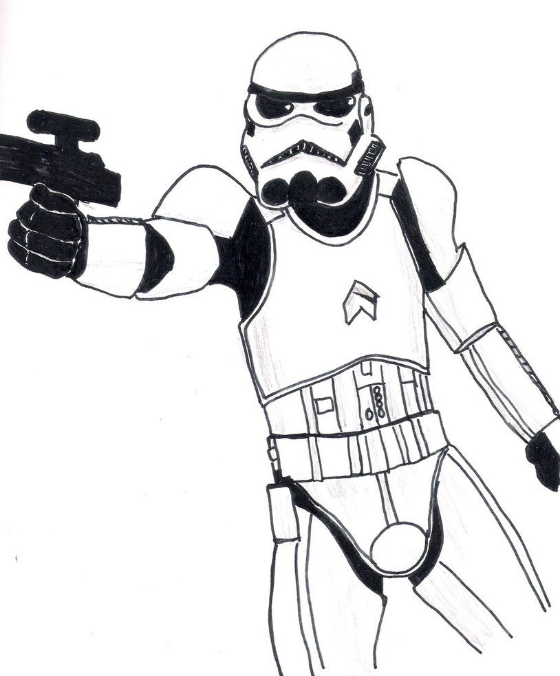 Trooper Coloring Page - Coloring Home