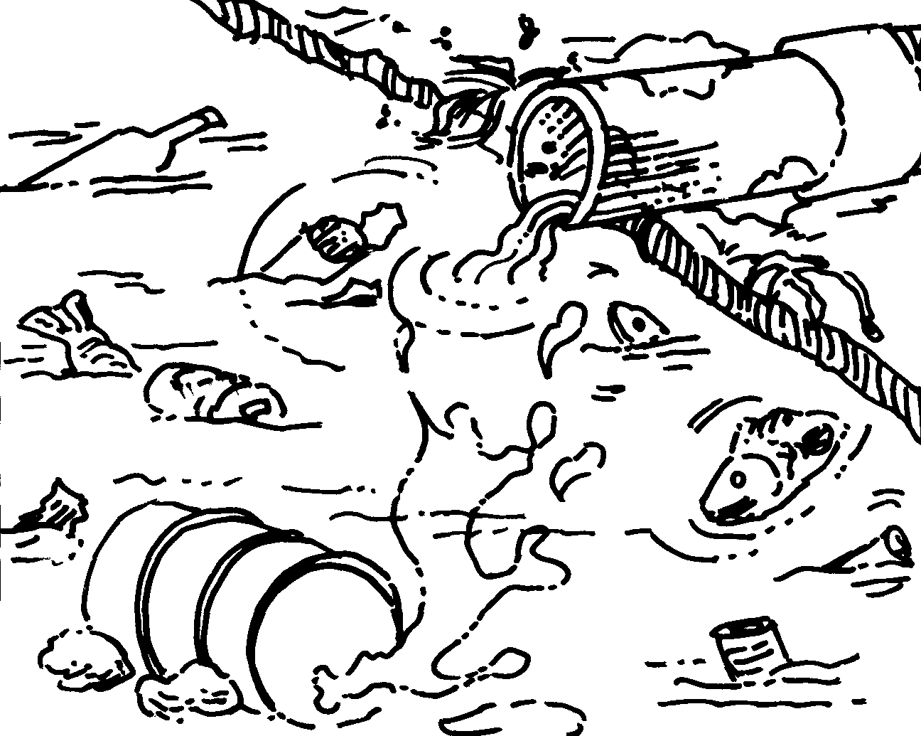 coloring pages land and water - photo#42