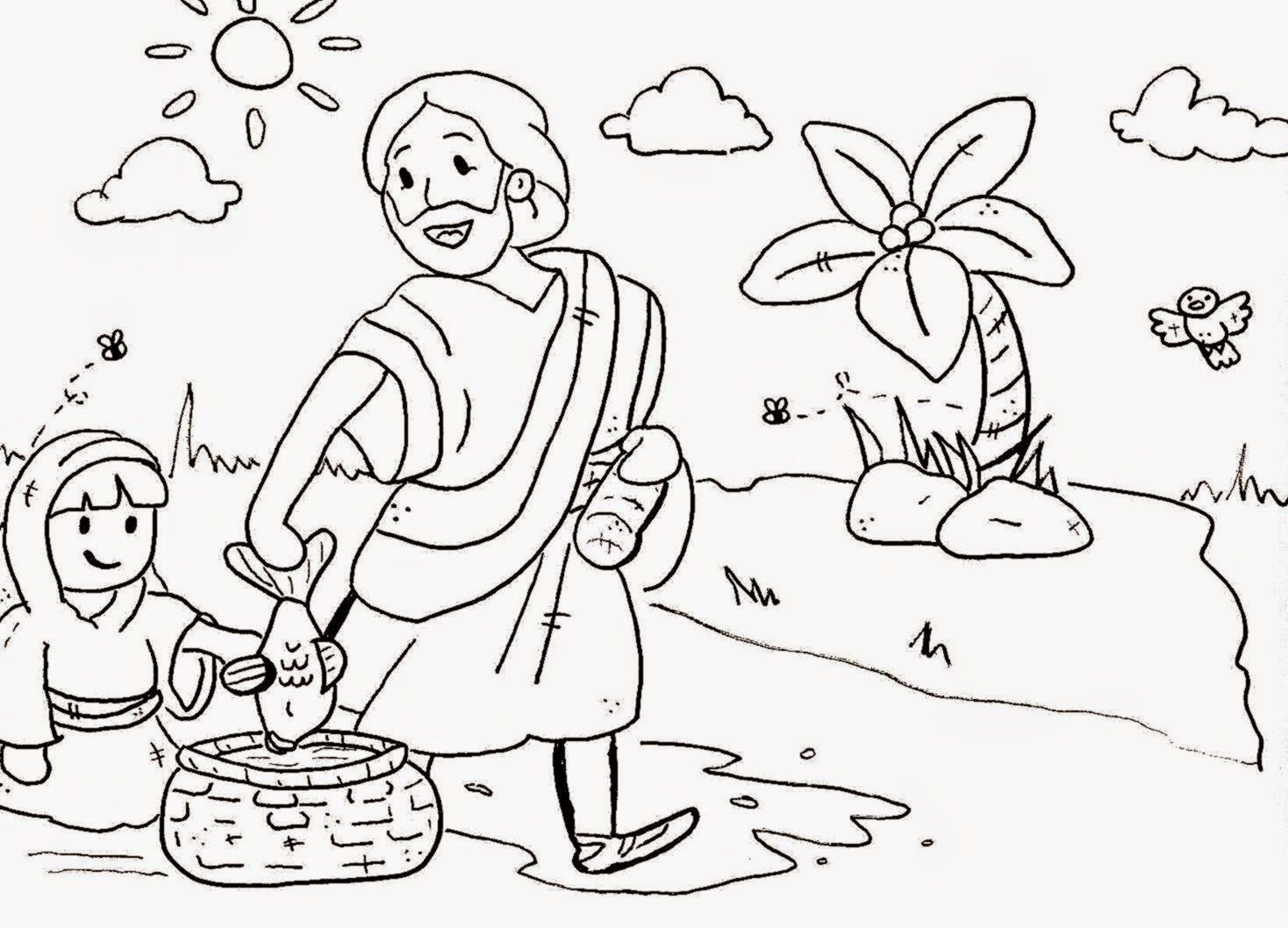 - Coloring Free Sunday School Coloring Pages Creation Sunday School