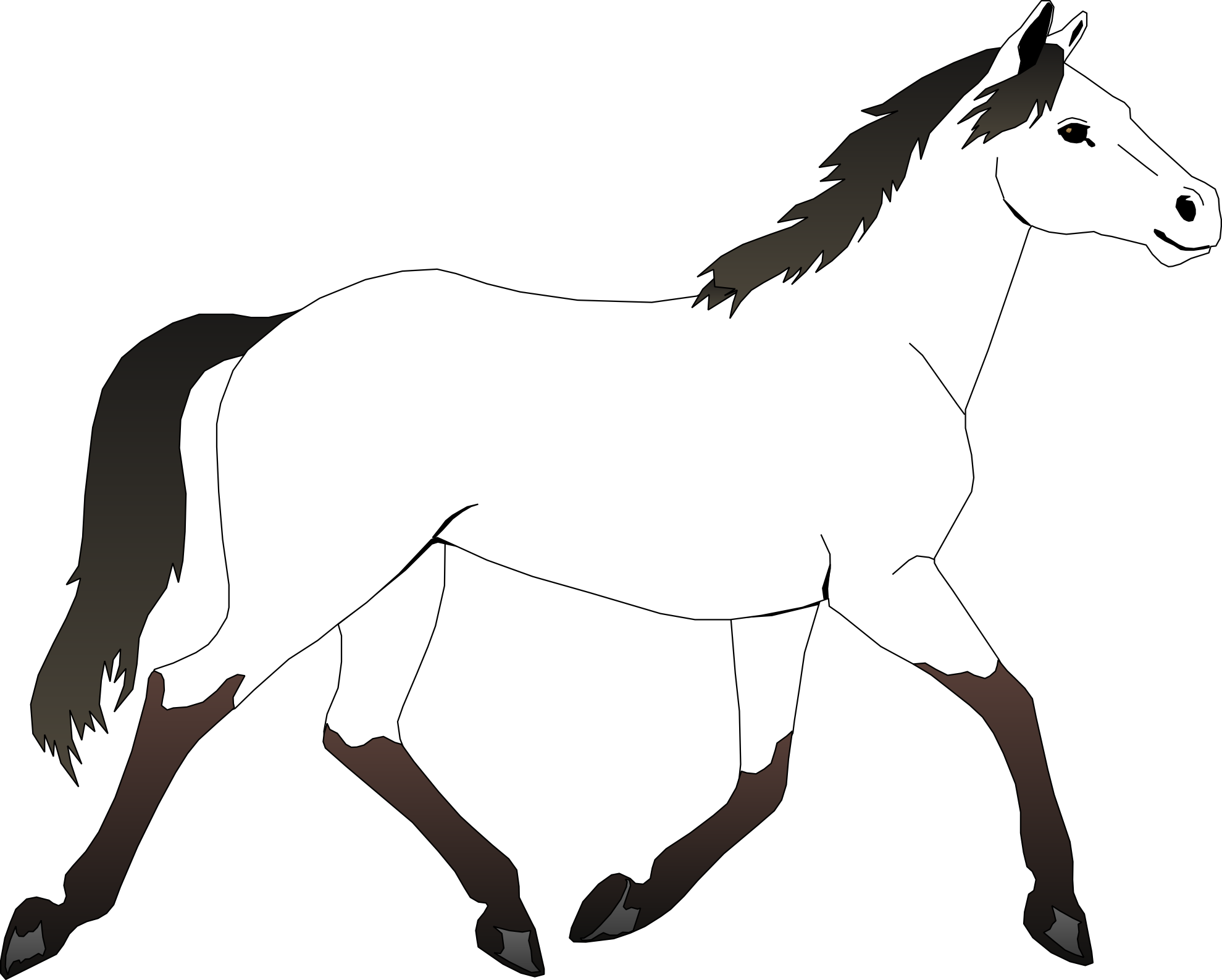 Paint Horse. 1000 Ideas About Horse Coloring Pages On