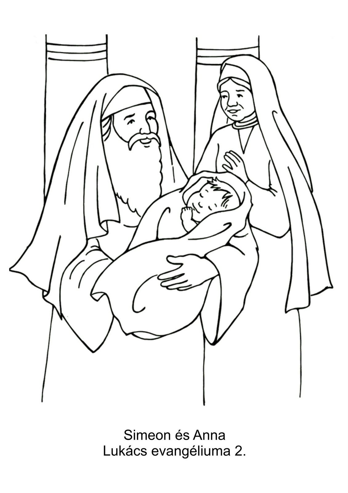 elizabeth bible coloring pages - photo#19