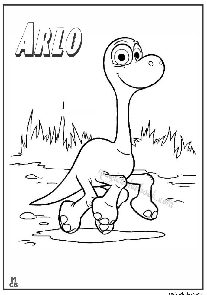 Good Dinosaur Coloring Pages Arlo Coloring Home