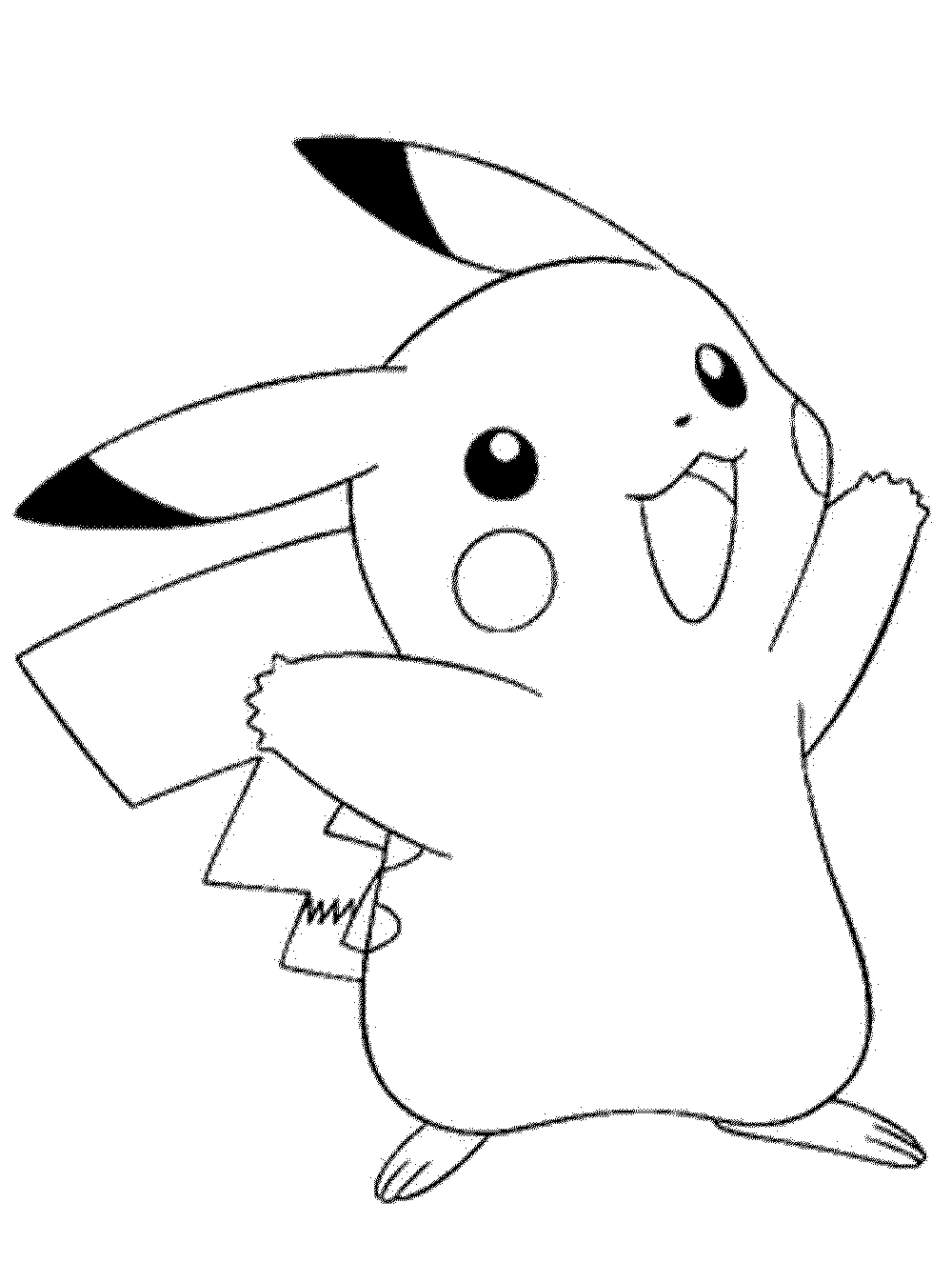 pokemon coloring pages free printable - photo#36