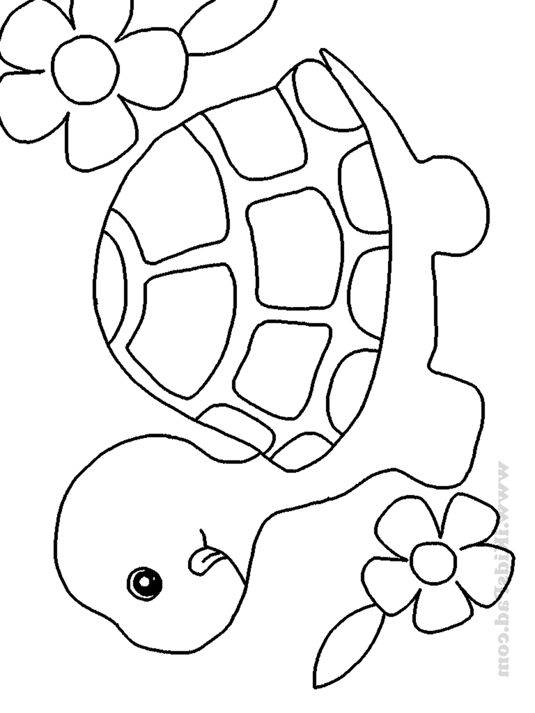 Animals free printable coloring pages ~ Cute Baby Animal Coloring Pages To Print - Coloring Home
