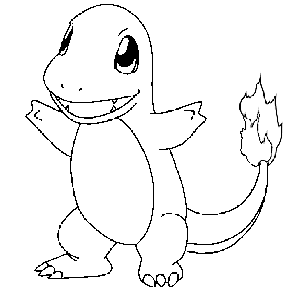 Free Pokemon Coloring Pages For Kids