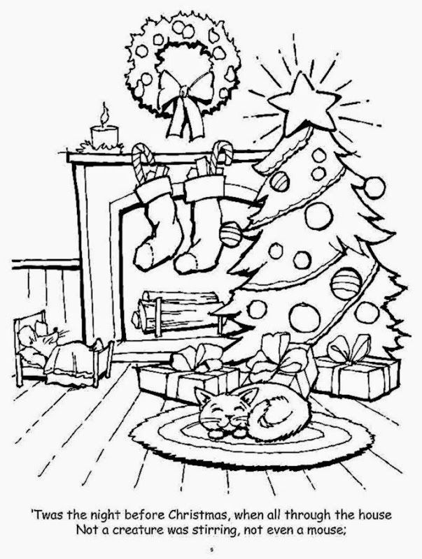 n is for night coloring pages - photo #25