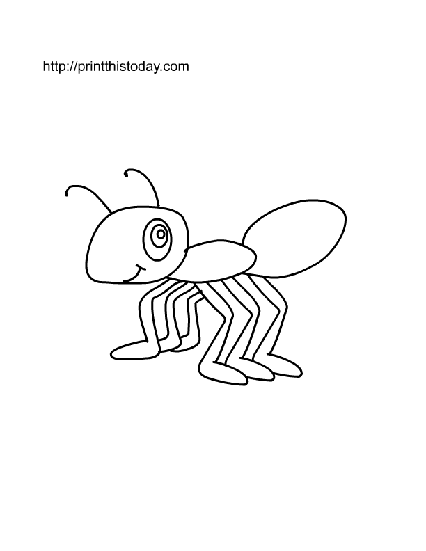 Free Printable Insects Coloring Pages | Print This Today