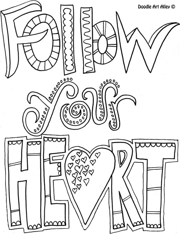 Doodle art alley coloring pages coloring home for Doodle art alley coloring pages