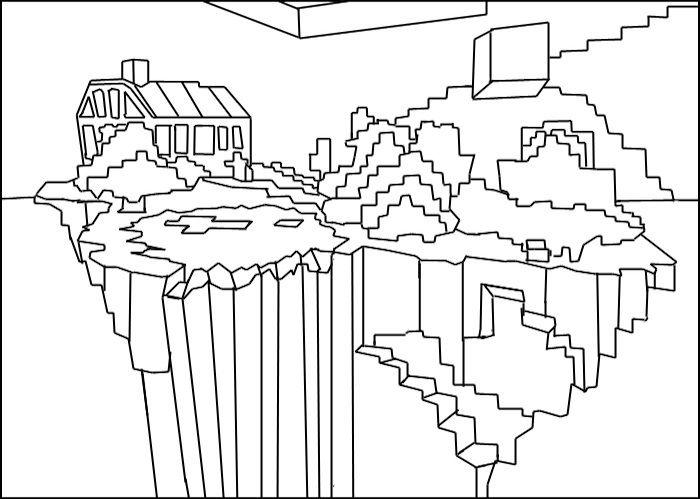 Dibujos Para De Minecraft Impri On Dibujos Para De: Minecraft Color Page