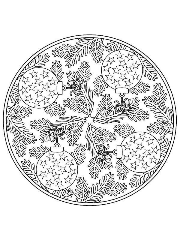 Coloring Christmas Ornaments Az Coloring Pages Christmas Coloring ...